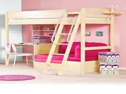 Bunk Bed Desk Underneath Elevated Bed With Desk Underneath Bedroom Boys Ideas Beds