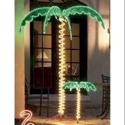 24 tropical lighted pink flamingo rope light outdoor yard