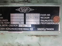 hos bv used refrigiration equipment