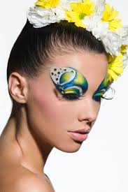 80 best fashion face painting images on pinterest make up face