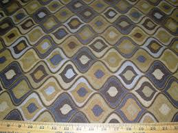 Modern Retro Upholstery Fabric 18 Yds Modern Retro Waves Geometric Awsome Woven Upholstery Fabric