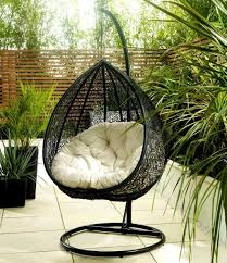 Trully Outdoor Wicker Swing Chair by Hanging Wicker Egg Chair Rattan Outdoor Furniture Nytexas