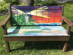 Bench Made From Tailgate Benches By The Bay Sturgeon Bay Door County Sturgeon Bay