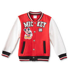 disney mickey mouse infant toddler boy s stadium jacket