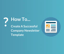 company newsletter template design and best practices for 2017