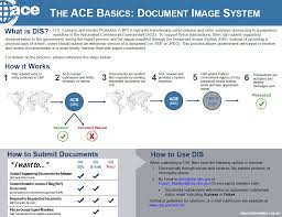 ace and automated systems u s customs and border protection