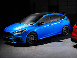 2018 ford focus rs limited edition lsd for last 1500 hatches