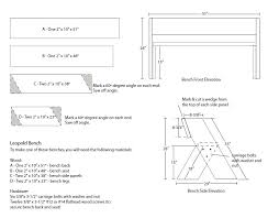 Outdoor Wooden Bench Plans To Build by Best 25 Garden Bench Plans Ideas On Pinterest Wooden Bench