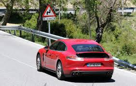 Porsche Panamera Redesign - redesigned porsche panamera caught in the wild nearly fully