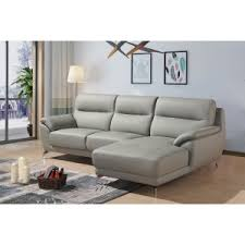 studded leather sectional sofa sofas living room