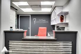 Dental Reception Desk Designs Black White And Red Reception Dental Office Design By Arminco