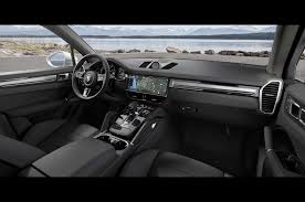 2017 porsche macan turbo interior 2019 porsche cayenne turbo spices up frankfurt with 550 hp photo