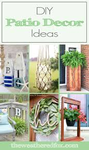 Patio Decor Diy Patio Decor Ideas To Spruce Up Your Exterior The Weathered Fox