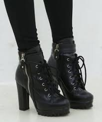 womens combat boots target s easton chunky heel combat boots target killer combat