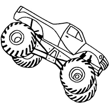 monster jam coloring page 399682