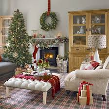 Country Homes And Interiors Christmas The 25 Best Christmas Living Rooms Ideas On Pinterest Ornaments
