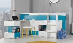 chambre enfant avec bureau lit enfant avec bureau coulissant et rangements jolly mobilier