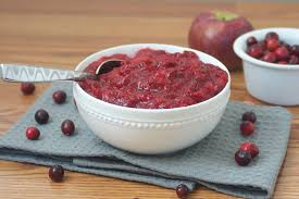 cranberry side dish thanksgiving naturally sweet cranberry apple compote bite of health nutrition