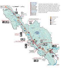 Canadian Rockies Map Banff National Park Map