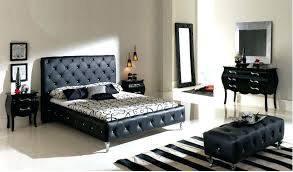 Bed Sets Black Black King Bedroom Set View Black 7 King Upholstered Bedroom Black