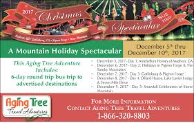 2017 christmas spectacular aging tree