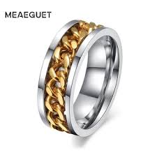 mens spinner rings best stainless steel spinner ring products on wanelo