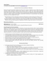 project coordinator resume project coordinator resume sle construction awesome resume format
