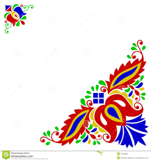 moravian folk ornament stock vector image of drawing 37563984