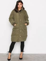 vila toj vianabella jacket vila mørke grøn jakker tøj kvinde