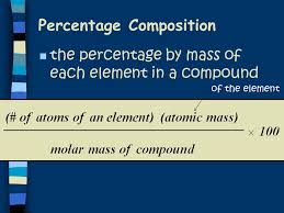 percent composition empirical formula molecular formula ppt