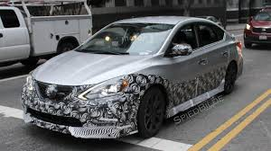 nissan sentra modified 2017 nissan sentra nismo spied in los angeles