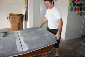 How To Move A Pool Table by Moving A Slate Pool Table Enchanting On Ideas Also The Wrong Way