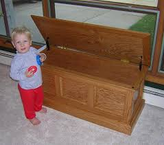 Free Wood Toy Box Plans by Toy Box The Tundra Man Workshop