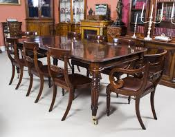 Dining Room Sets 8 Chairs Mahogany Dining Table Dramatic 1930s Mahogany Dining Table By