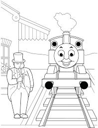tank engine coloring page thomas the sheet music piano free