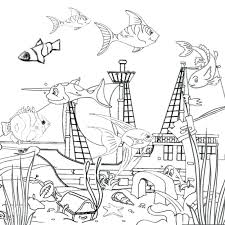 underwater dinosaurs coloring pages underwater coloring pages free printable ocean coloring pages for