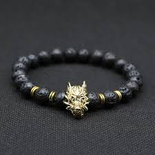 black bead bracelet men images Buy wolf head bracelet and beaded bracelets for women jpg
