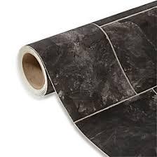 octavina black tile effect vinyl 4 m departments diy at b q