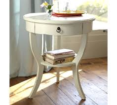 How To Make End Tables With Drawers by Carrie Pedestal Bedside Table Pottery Barn