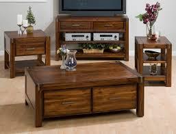 Sofa Tables With Drawers jofran rustic loft sofa table media unit 752 4