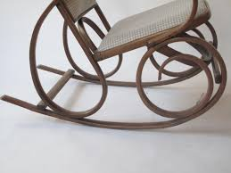 Antique Pressed Back Rocking Chair Antique Rocking Chair By Michael Thonet For Sale At Pamono