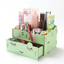 diy makeup organizer box