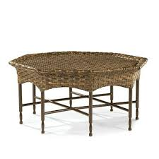 Bali Wicker Outdoor Furniture by Bali Hand Woven Synthetic Wicker Octagonal Cocktail Table