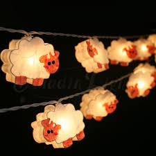 Fairy Lights Childrens Bedroom by Gaiashine Zoo Mix Animals String Lights Fairy Kid U0027s Room Night