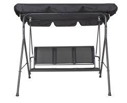 Wilko Garden Furniture Siestadesign 3 Seater Garden Swing Seat Hammock Weatherproof Seat