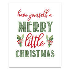 christmas signs 6 free printable christmas signs six clever