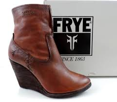ebay frye womens boots size 9 s shoes frye cece artisan wedge booties zip leather