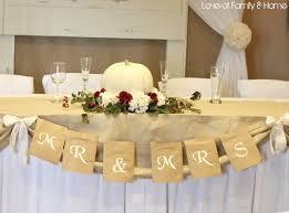 diy rustic chic fall wedding reveal love of family u0026 home