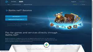 battlenet prepaid card gamesatış battle net gift card yükleme