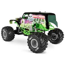 rc nitro monster trucks axial 1 10 smt10 grave digger monster jam truck 4wd rtr